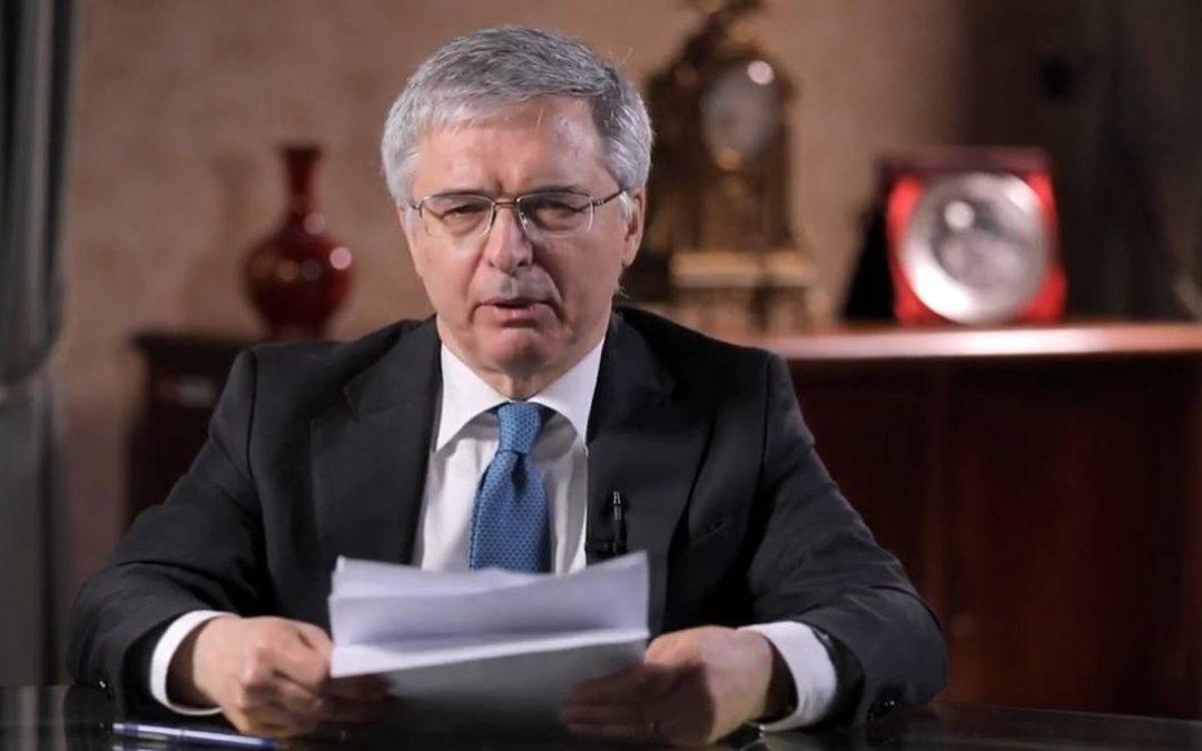 Il ministro dell'Economia Daniele Franco