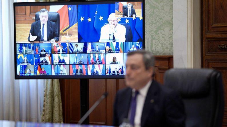 Con le cose turche della diplomazia Draghi diventa presidente nominato