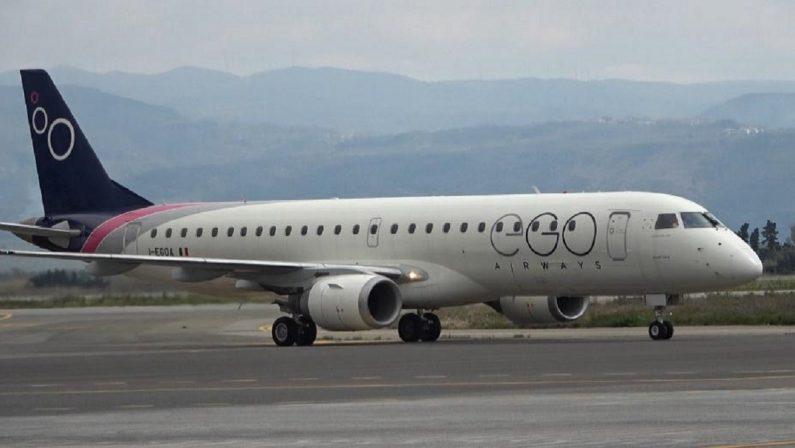 Primo volo Parma-Lamezia della italiana Ego Airways: tre collegamenti settimanali con la città emiliana