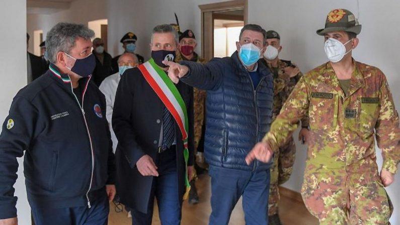 Campagna vaccinale in Calabria, tappa a Taurianova per Figliuolo