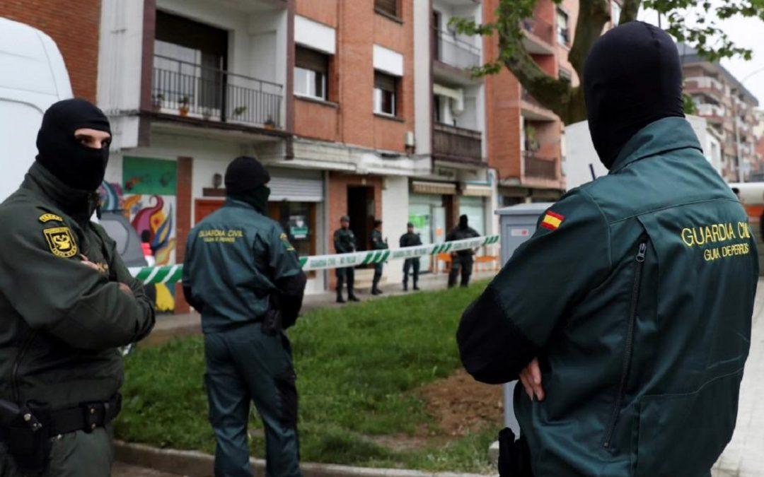 La guardia civil spagnola