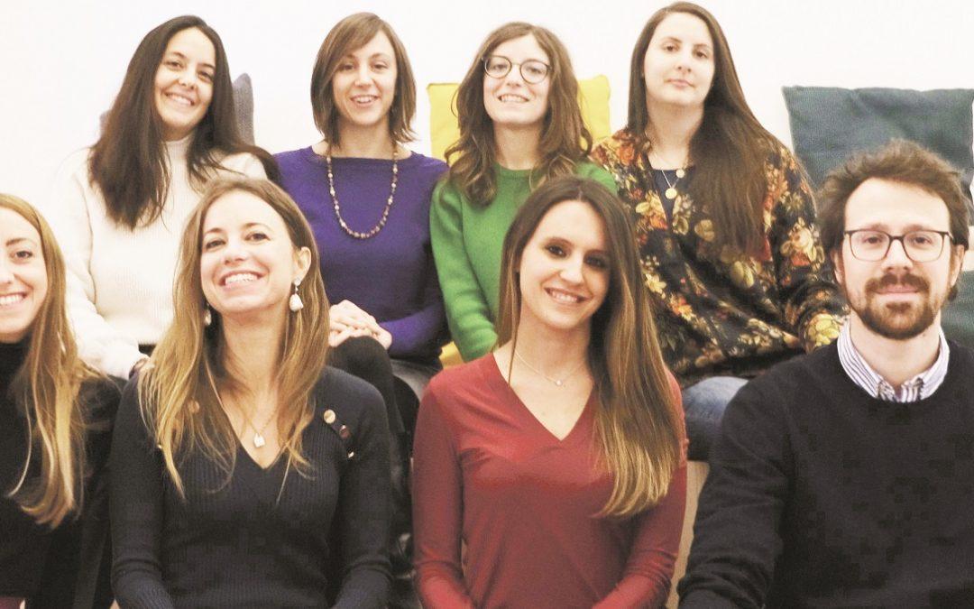 Una foto di gruppo di Innovation Napoli Network