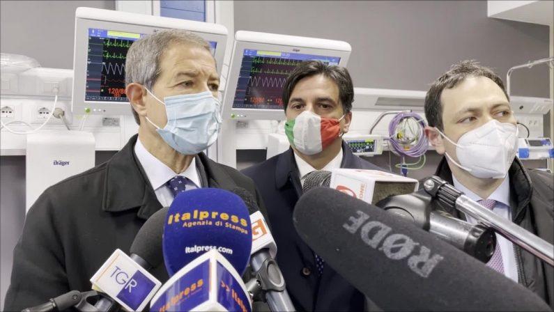 VIDEO - Musumeci inaugura nuovo reparto Ospedale Garibaldi di Catania