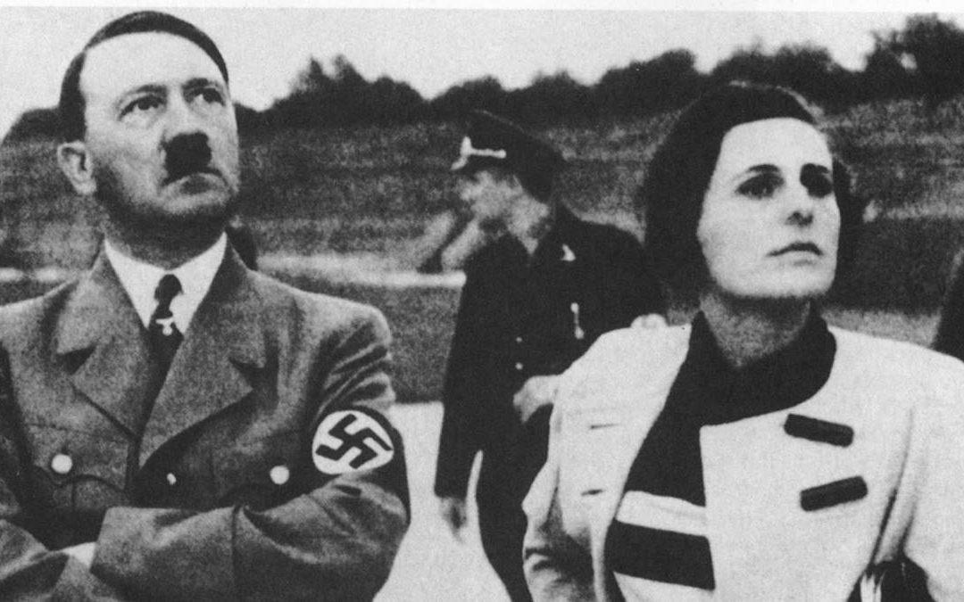 Leni Riefenstahl con il Führer
