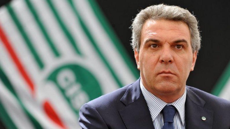 Sindacati, il calabrese Luigi Sbarra è il nuovo segretario generale della Cisl