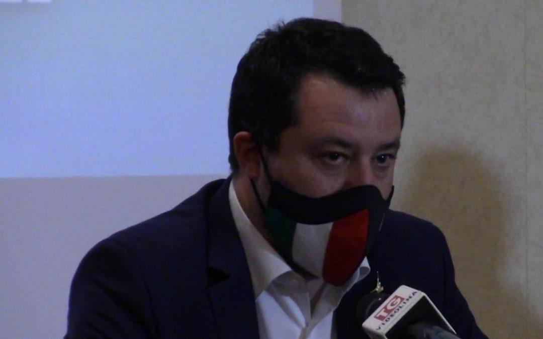 """Covid, Salvini """"Arcuri ha fallito"""""""