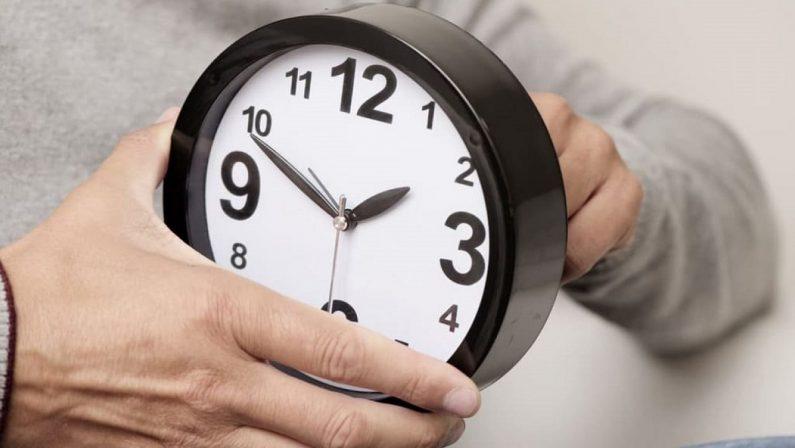 Torna l'ora legale, tra sabato e domenica lancette avanti di un'ora