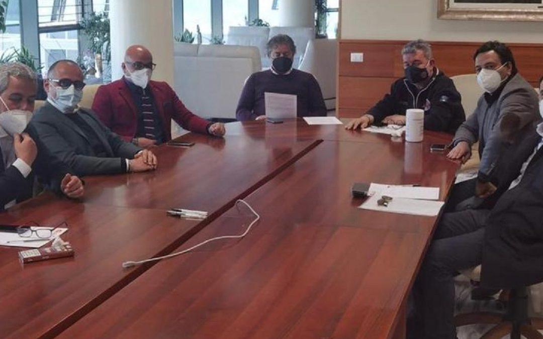Una foto della riunione alla Cittadella