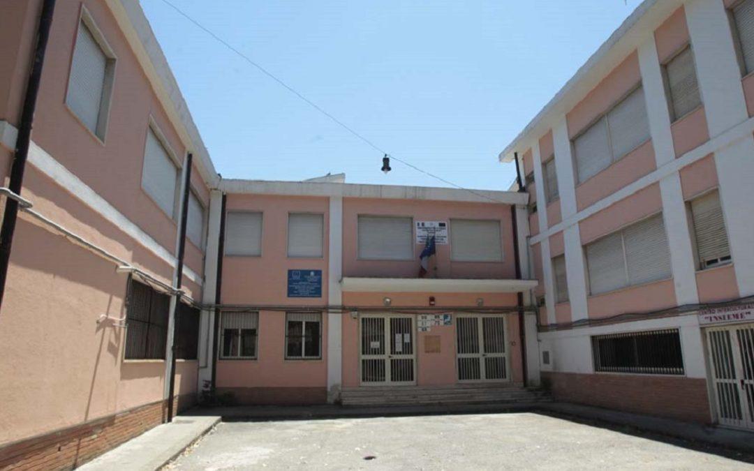 La scuola di via Saverio Albo a Cosenza