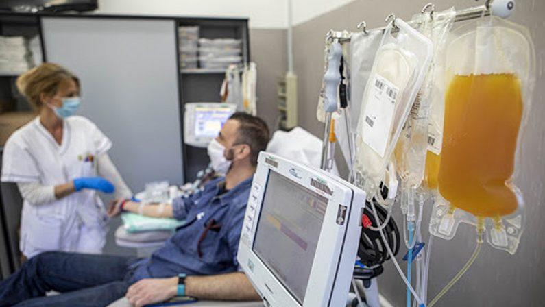 Coronavirus in Calabria, la Regione aderisce al progetto europeo per la raccolta del plasma