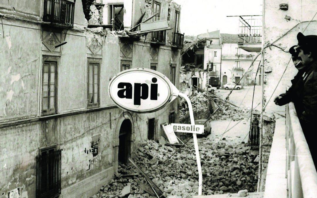 Gli effetti del terremoto del 1980 che colpì Irpinia e Basilicata