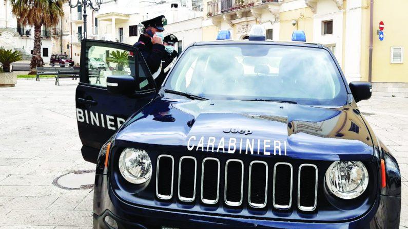 Montescaglioso, arrestato un 51enne, pretendeva il pagamento della droga con sesso