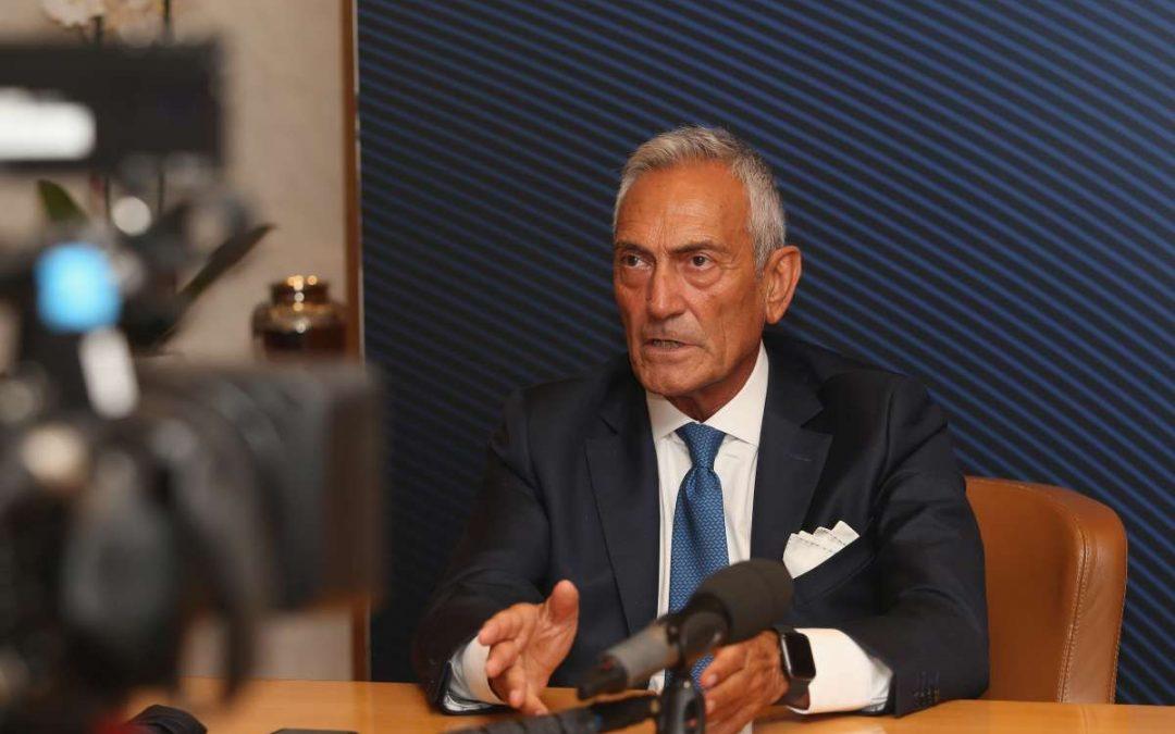 """Il governo apre sul pubblico a Euro2020, Gravina """"Grazie Speranza"""""""