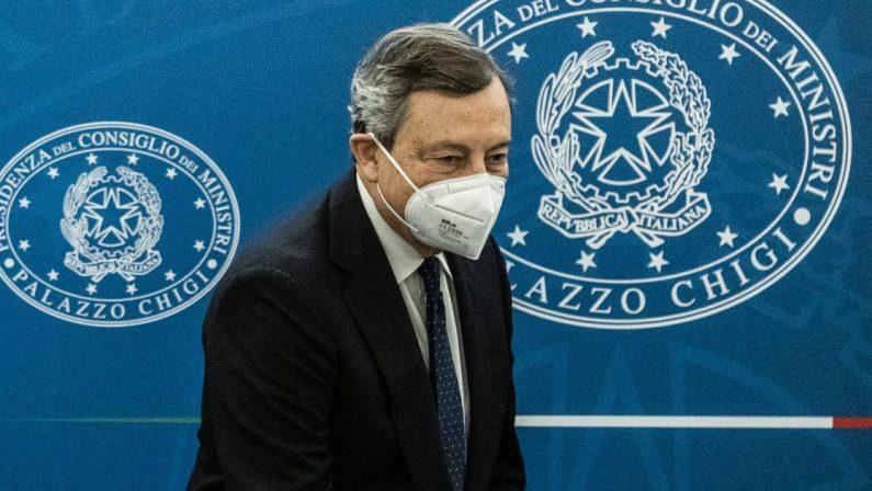 Recovery Plan, il presidente Mario Draghi: «Forte discontinuità in alcune aree»