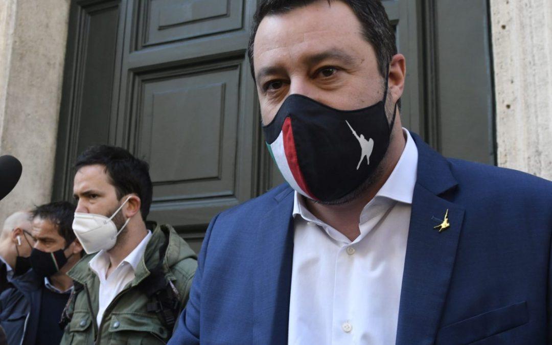 """Covid, Salvini """"Programmare riaperture dalla seconda metà di aprile"""""""