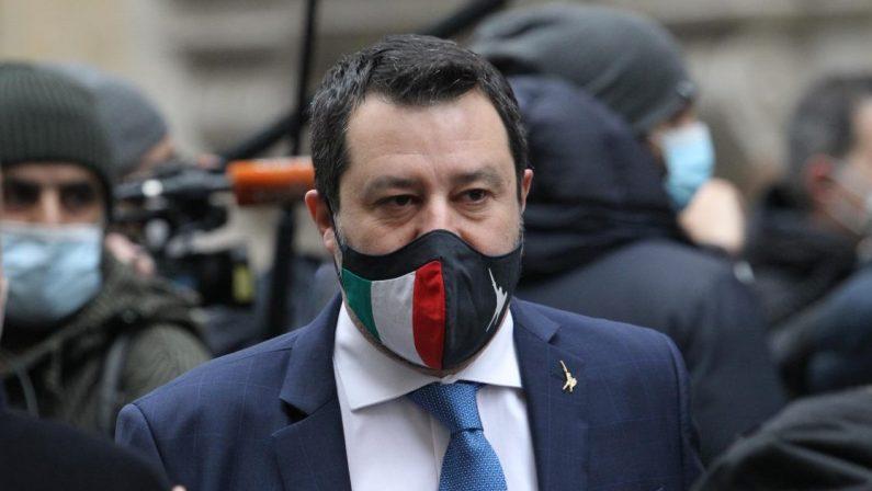 L'ira contorta e giornaliera di Salvini: punta Super Mario per colpire Meloni