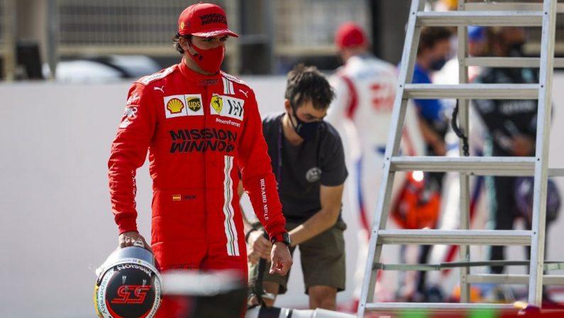 Formula 1, Sainz: «Hamilton non ha punti deboli, un'emozione la Ferrari»