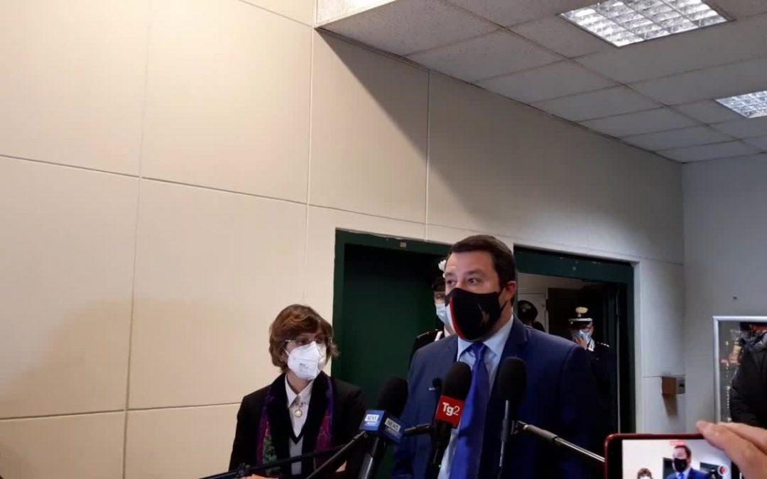 """Open Arms, Salvini """"Al processo emergerà la verità"""""""