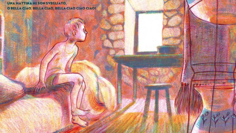Bella Ciao, il canto della Resistenza trasformato in una fiaba illustrata