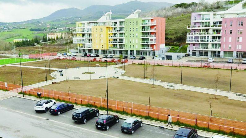 Piazza Albino Pierro a Potenza, lavori quasi conclusi