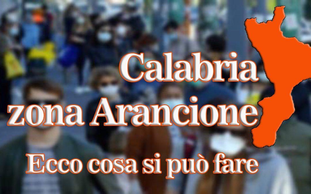 Calabria in zona Arancione, cosa si può e cosa non si può fare, ecco tutte le risposte