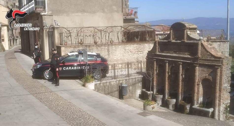 I carabinieri a Cortale