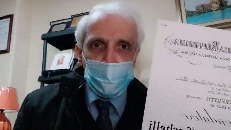 Appello di Corbelli ai sindaci calabresi: «Chiudete tutte le scuole»