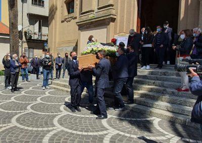 Funerali Michele Porcelli