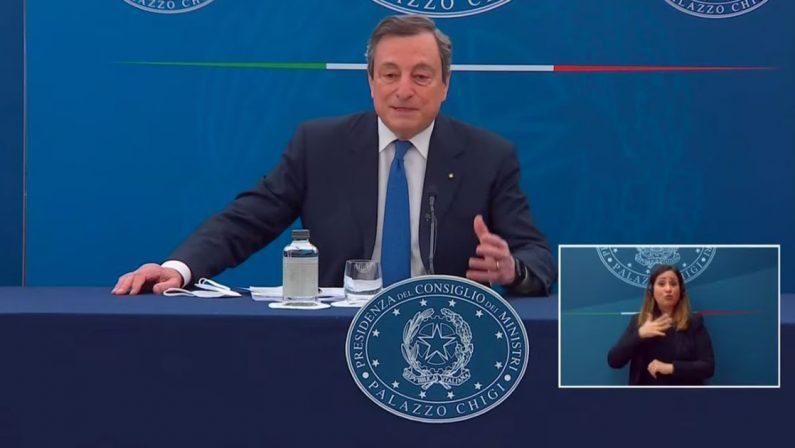 Governo: Letta vuole Draghi premier fino al 2023: «Elemento di fiducia»