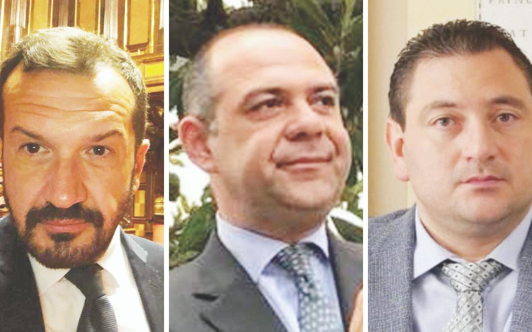 Pasquale Pepe, Roberto Marti, Massimo Zullino