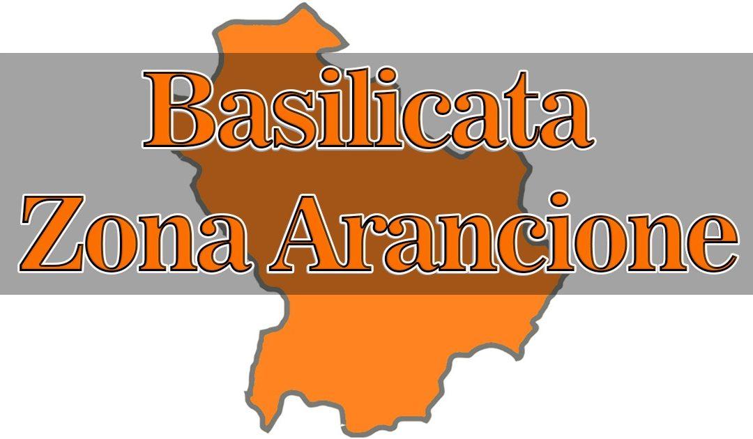 Basilicata ancora in zona arancione