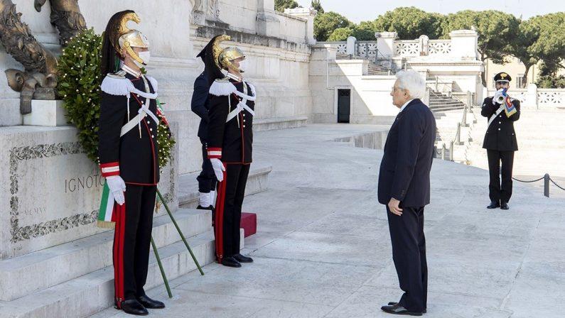 25 Aprile, Mattarella: «Oggi più che mai rimanere uniti nello spirito della Liberazione»