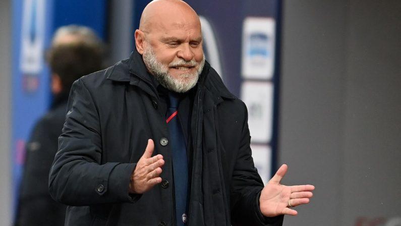 Serie A, il Crotone pronto alla sfida colNapoli. Cosmi: «Dobbiamo fare una grande partita»