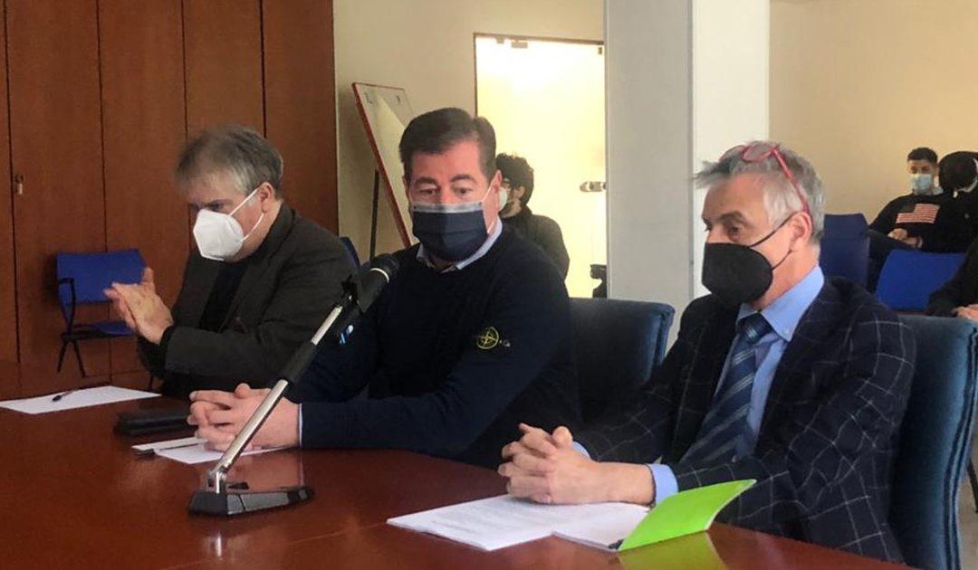 Rocco Valenti, Francesco Dodaro e Paride Leporace