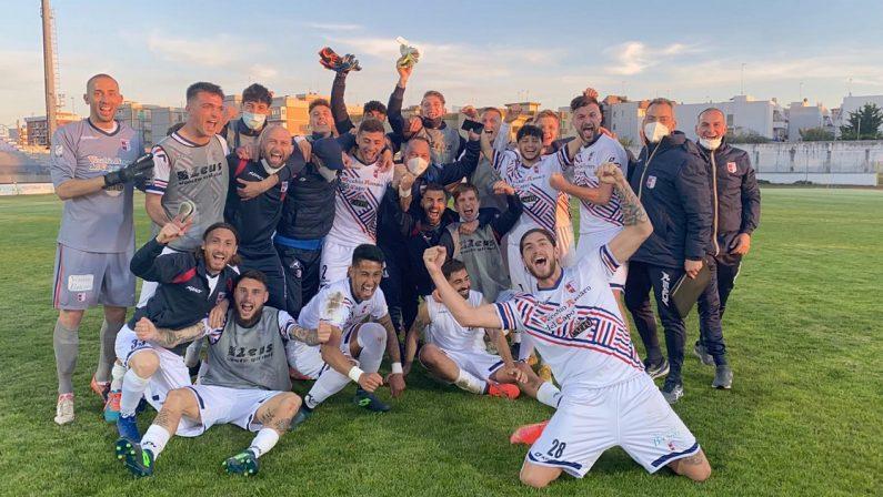 Calcio Serie C, la Vibonese salva nonostante la sconfitta a Bisceglie