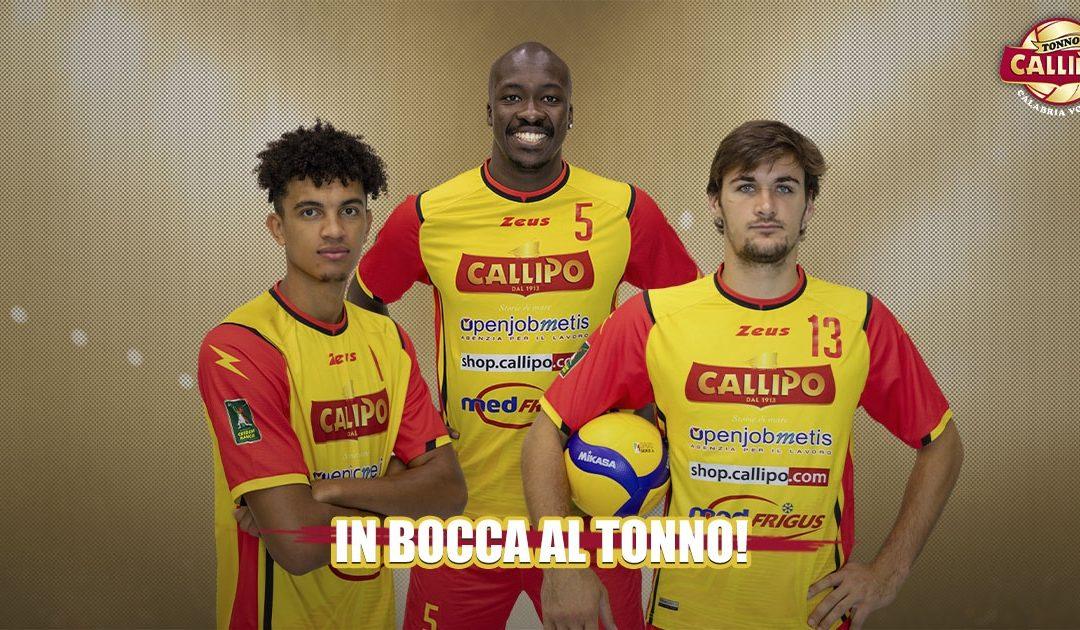 I tre (ex) giocatori della Tonno Callipo in partenza verso altre società