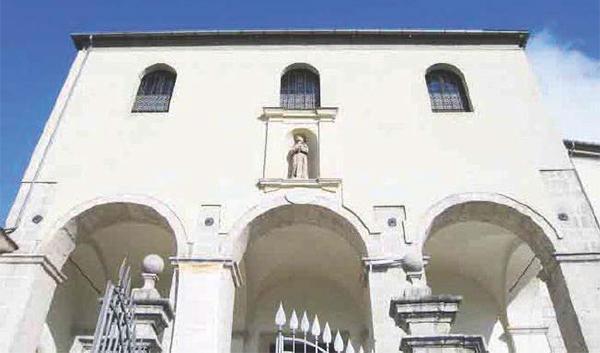 Covid, convento isolato
