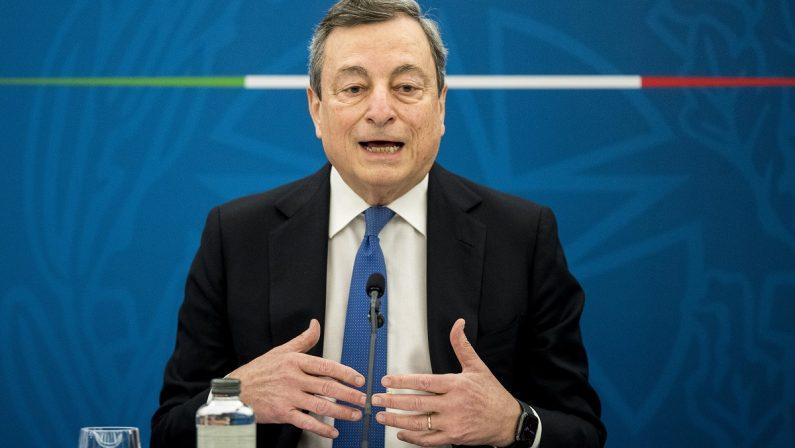 Lo scontro sul coprifuoco non vale molto,l'ora decisiva di Draghi è quella del Pnrr