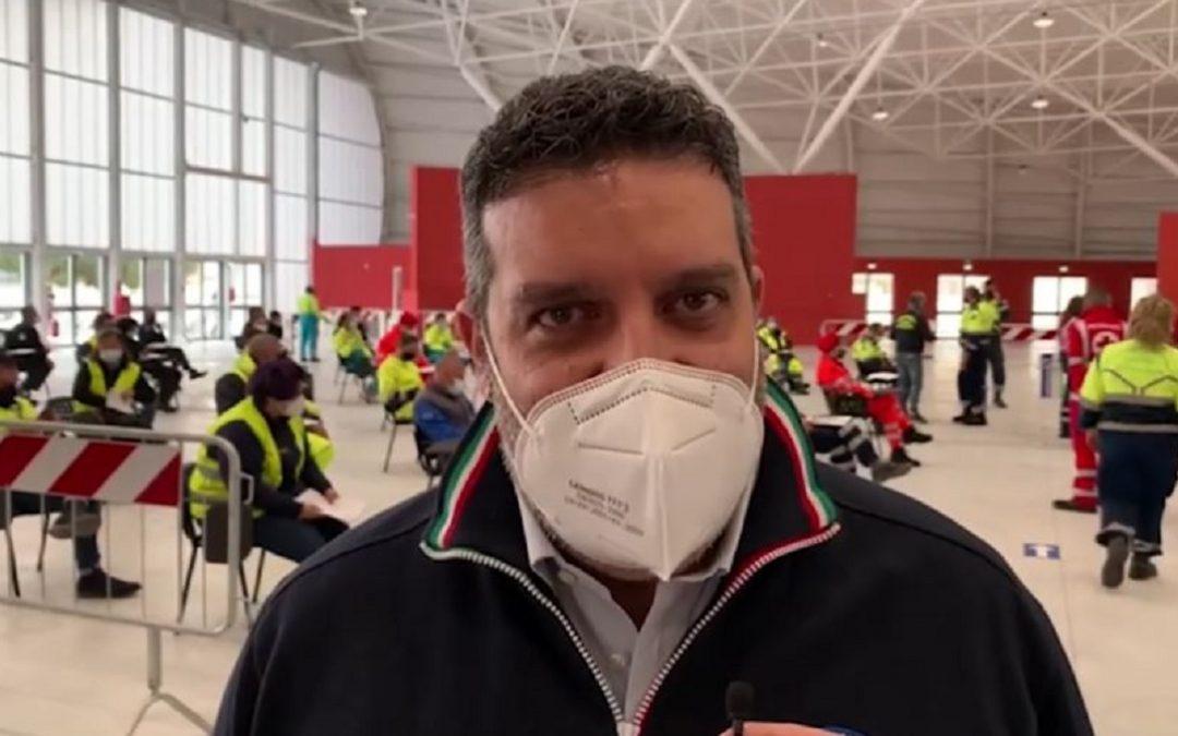 Il dirigente generale della Protezione Civile Calabria, Fortunato Varone