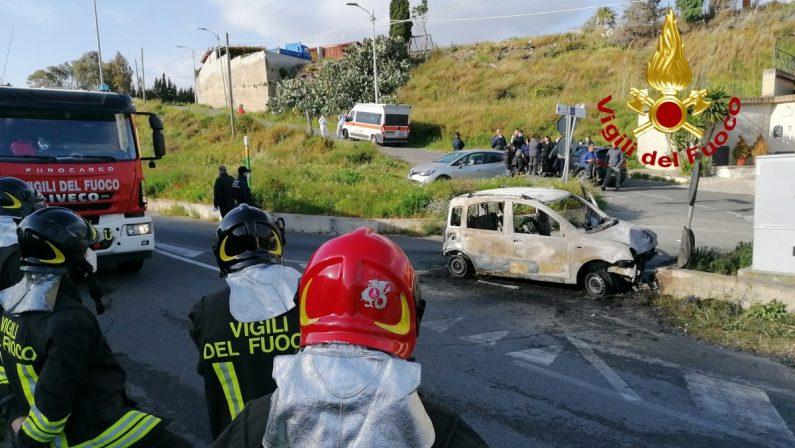 Tragico incidente stradale a Catanzaro, muore sul colpo un 22enne