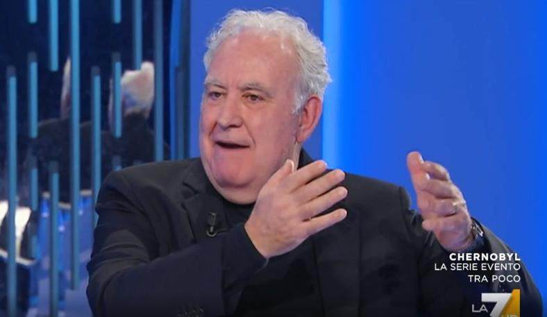 """Michele Santoro ospite a """"Otto e Mezzo"""""""