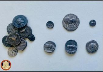 Archeologia, centinaia di monete e monili consegnate al museo di Sibari