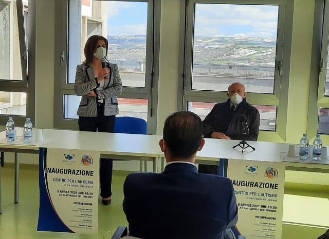 Inaugurato a Sant'Angelo dei Lombardi il nuovo centro per l'autismo