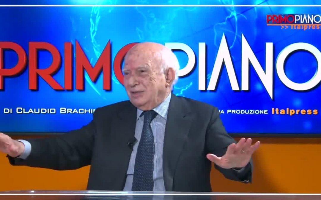 """Cirino Pomicino """"La politica è in declino"""""""