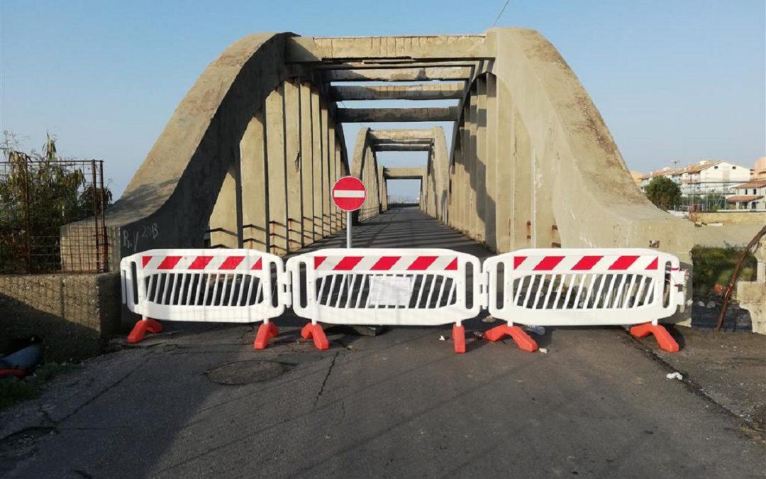 Il ponte di pilati di Melito in una foto d'archivio