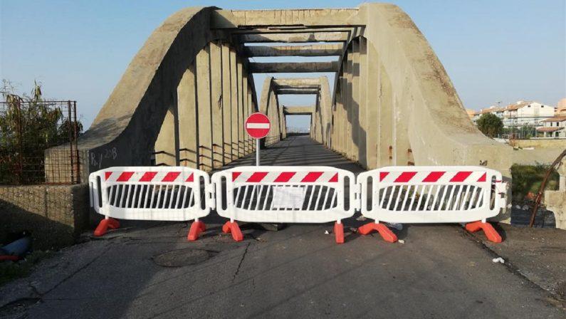 Sequestrato un ponte a rischio crollo in provincia di Reggio Calabria
