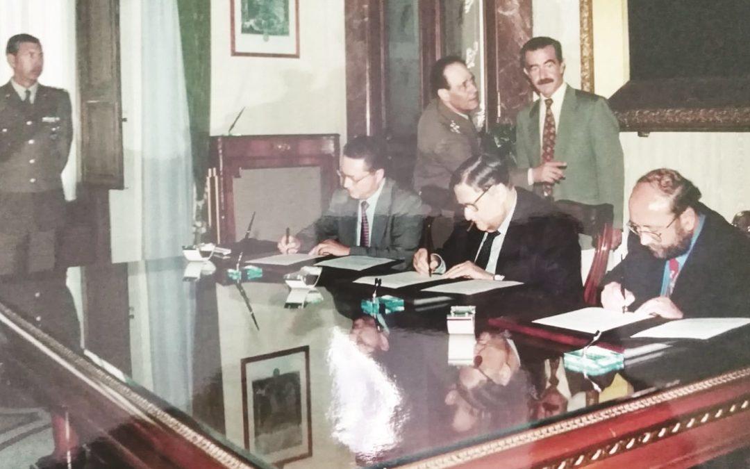 Il protocollo d'intesa firmato nel '98 dall'ex ministro Andreatta e dall'ex sindaco Migale