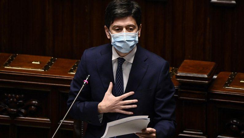 """Il Senato boccia la mozione di sfiducia a Speranza: Lega e FI """"isolano"""" la Meloni"""