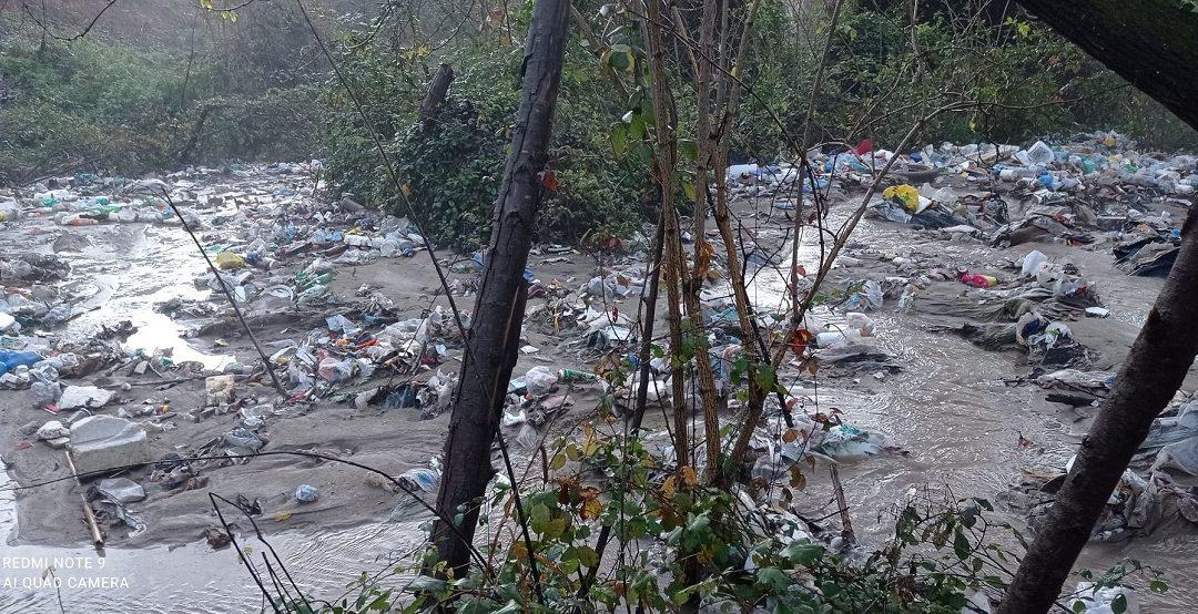 Una foto che testimonia la situazione a San Costantino