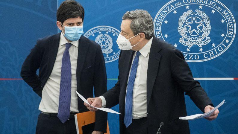 Vaccini e Recovery Plan, gli esami di maggio per Draghi e per i partiti